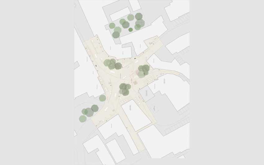 """Gestaltung """"Unterer Platz"""" in Deutschlandsberg"""